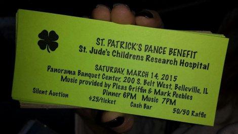 St Patrick's Benefit 3-14-15