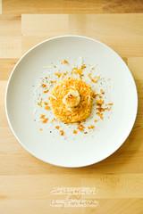 crispy pumpkin scallop risotto 02