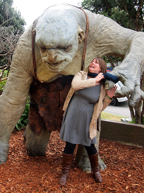 Weta Cave in Wellington, NZ