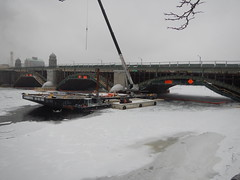 Crane on Barge