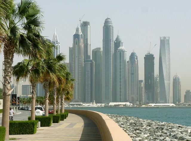 Dubai from Palm Island