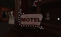 """""""7 - The Cupid Motel Sign -"""" spotted!"""