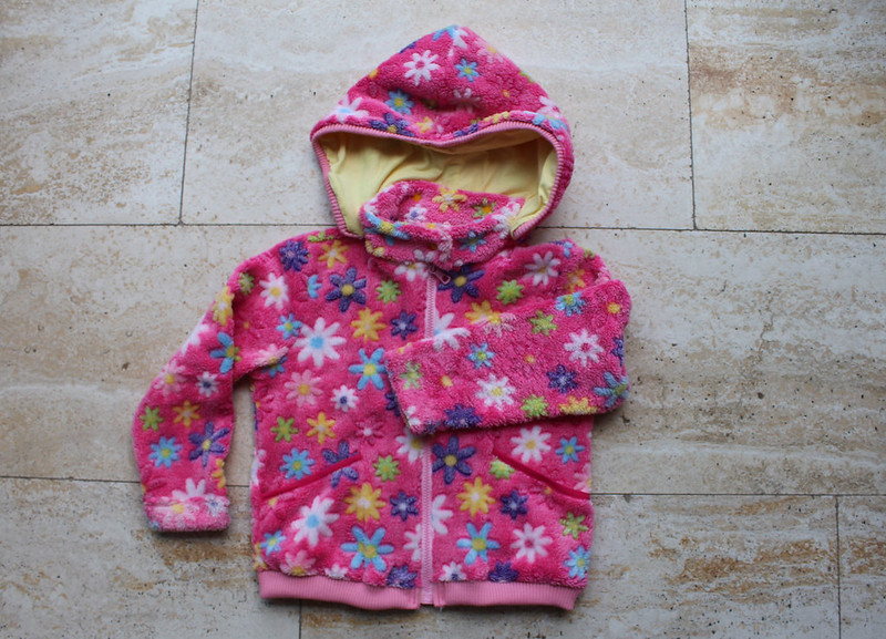 Roze fleece