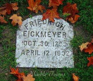 Wildwood Cemetery-Sheboygan-Eickmeyer-Friedrich