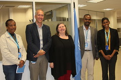 UNICEF Staff supporting Rotary International Advocacy Group Visit to office