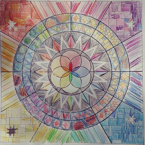 Design for the #technicolorgalaxy! Now to make it a reality!