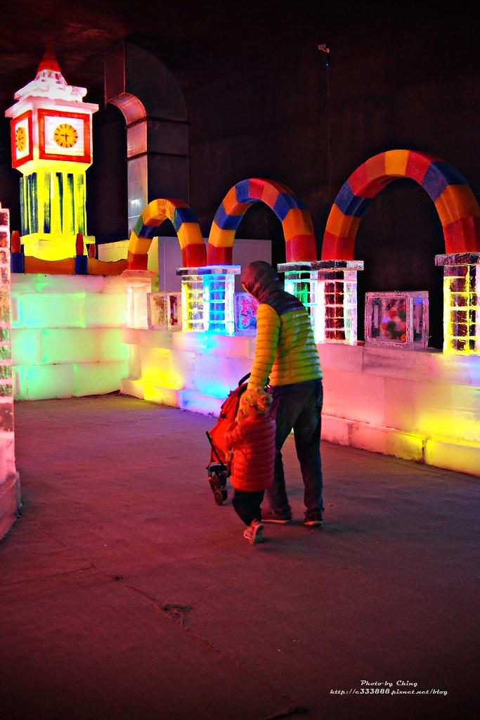 台中高鐵-2015正宗哈爾濱冰冰燈冰雕展-18