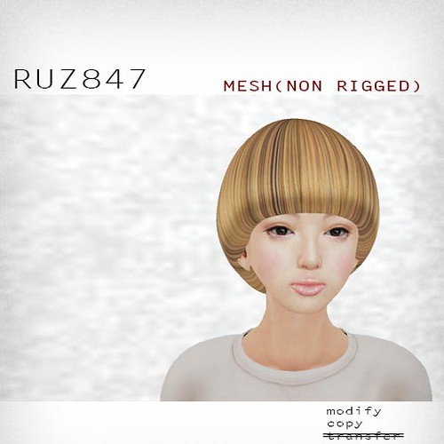 booN RUZ847 hair