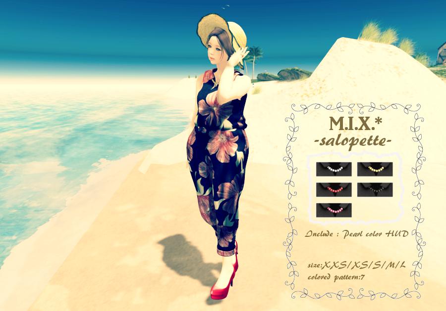 M.I.X.*salopett & heels