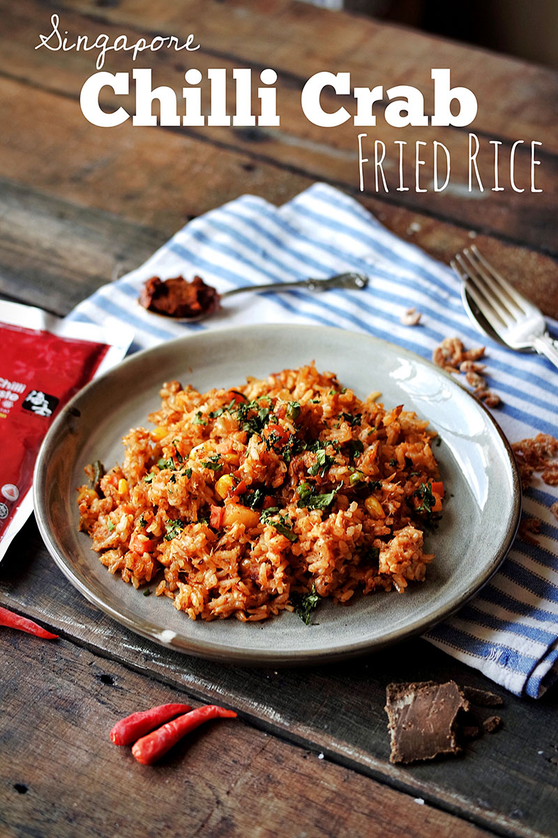 Chilli Crab Fried Rice Recipe
