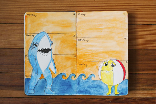 Sketchbook Journal 2015 - Week 6