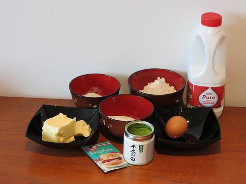 Cooking: Matcha Pound Cake