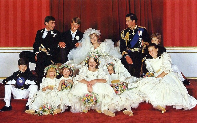 The Wedding Of Princess Diana & Prince Charles, Sovereign Series Royal Wedding 1981, No. 38 One For The Family Album By Patrick Lichfield,Published By The Prescott-Pickup Co. Ltd., Made In England