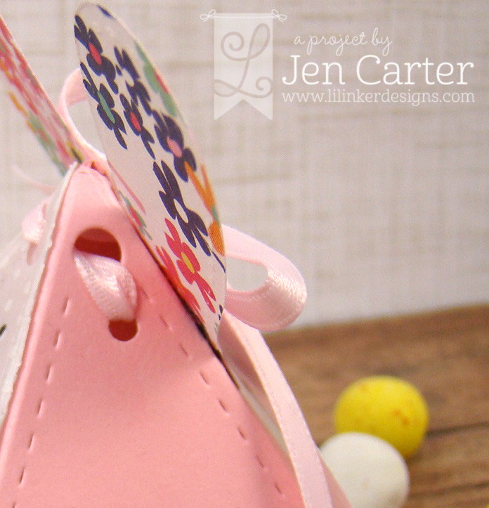 Jen Carter Vellum Bunny Bow tie