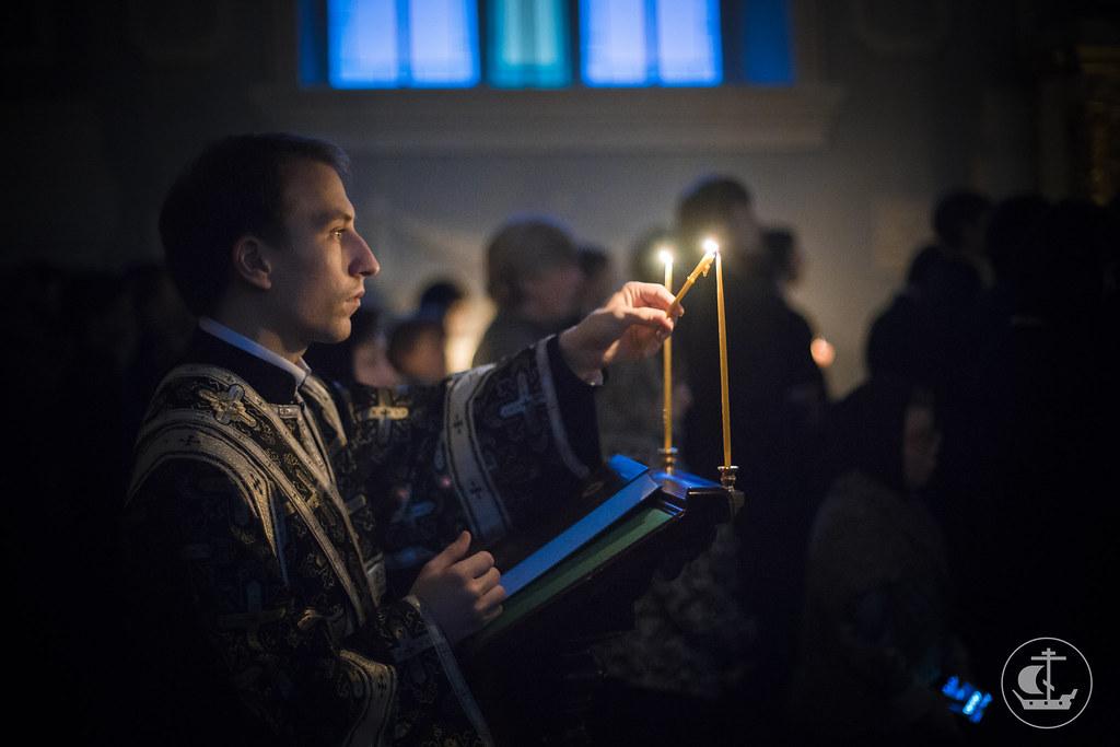 25 февраля 2015, Среда Первой седмицы Великого поста. Великий покаянный канон / 25 February 2015, Wednesday of the 1st Week of Great Lent. The Great canon