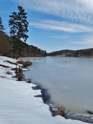 statepark winter snow landscape