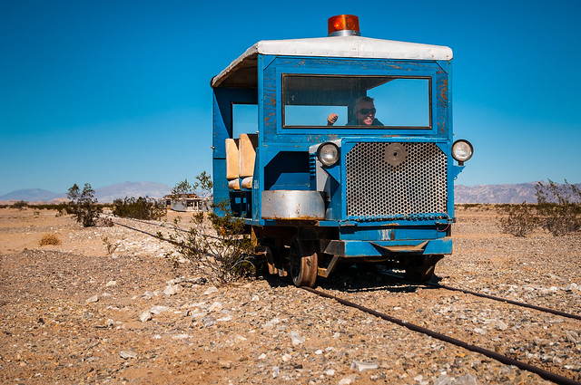 Plaster City Train Car