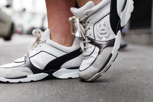 Chanel Sneakers Grey Chanel Sneakers