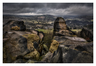 Black Rocks over Cromford