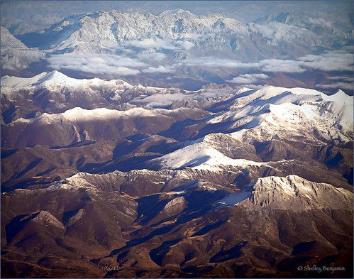 snow mountains clouds landscape spain pyrenees infinitexposure