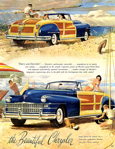 1947 ... when cars were made of wood!