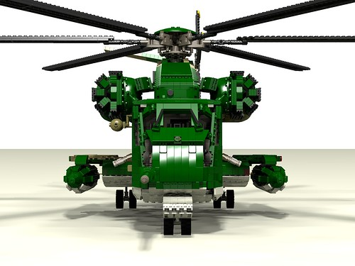 HH-53C Super Jolly Green Giant front