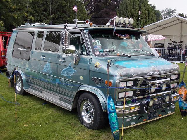 1992 Chevrolet Chevy Van custom van 'Flipper'