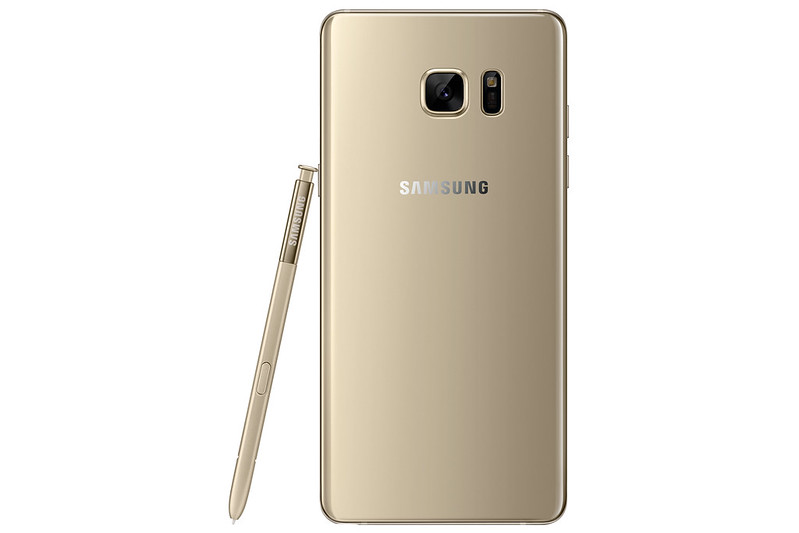 Samsung Galaxy Note 7 - Gold Platinum - Back