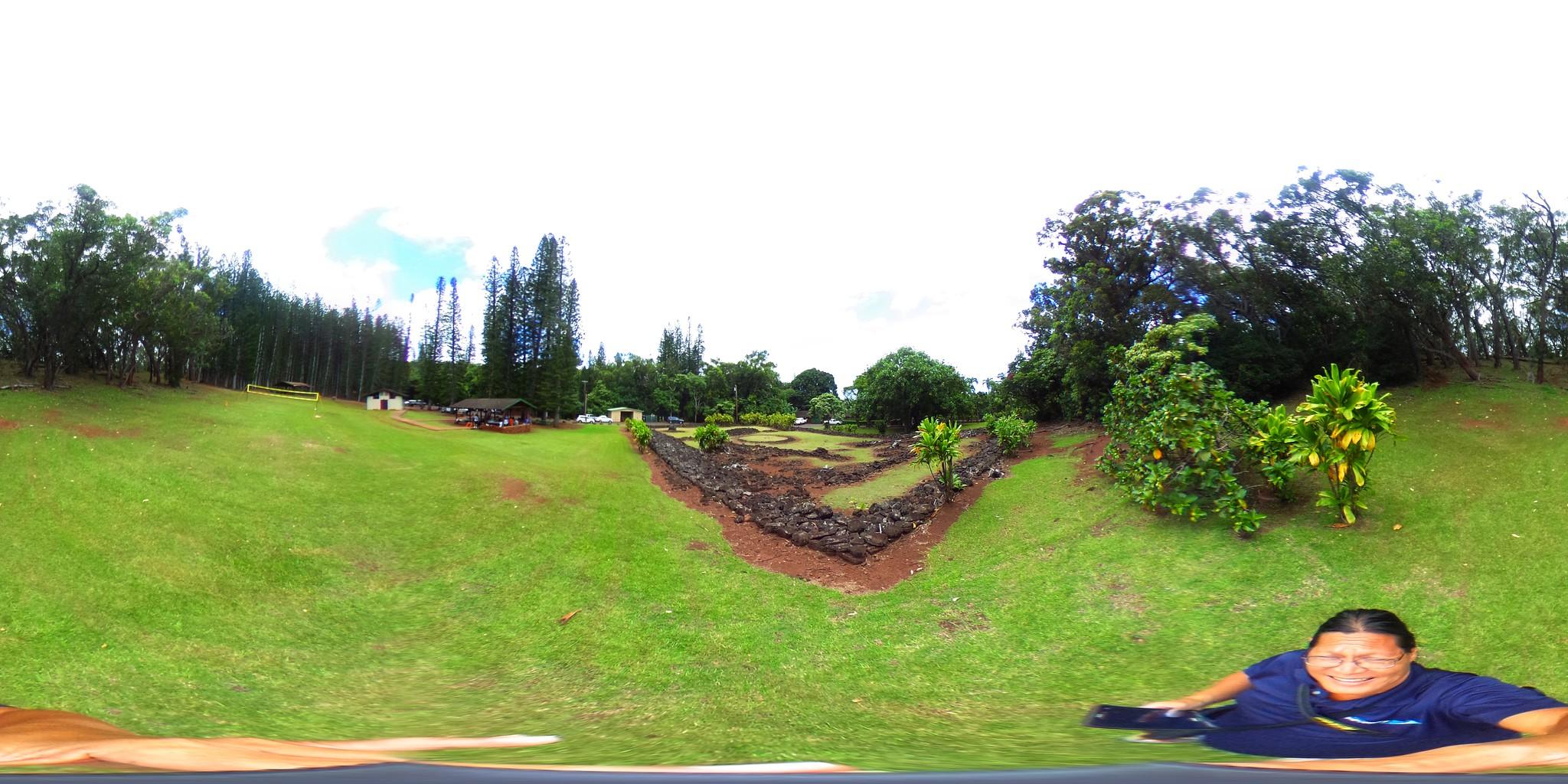 The Keaiwa Heiau - a 360º Equirectangular VR