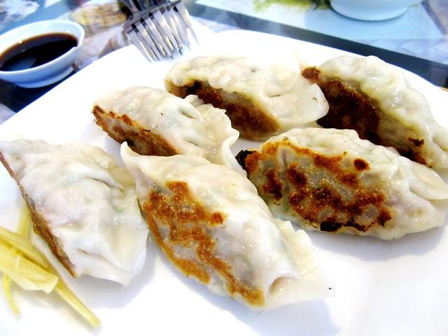 Noodle House dumplings