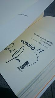 David Byrne Signature