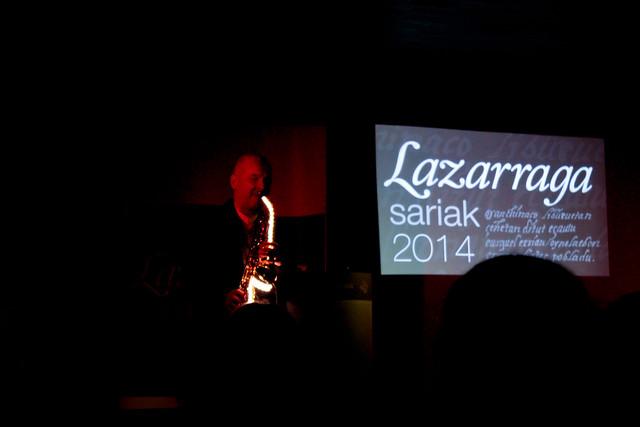 Lazarraga Sariak 2014
