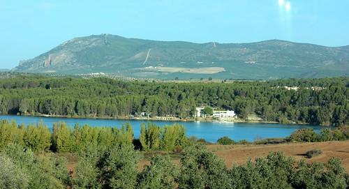Landscape near Campotéjar, Spain