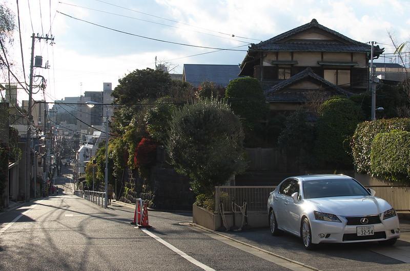 東京路地裏散歩 谷中のあかぢ坂 2014年12月14日