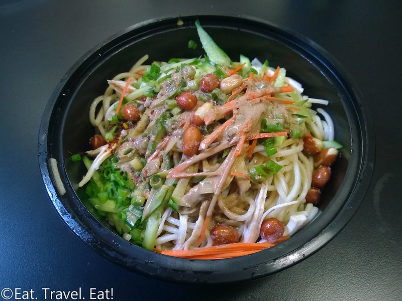 Chinese Food Truck: Cold Sesame Chicken Noodles