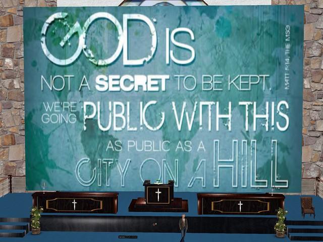 House of Prayer - God is Not A Secret