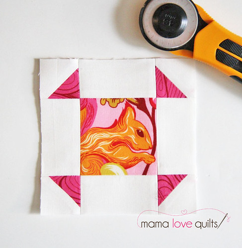 IG Mini Quilt Swap_Puss in Corner