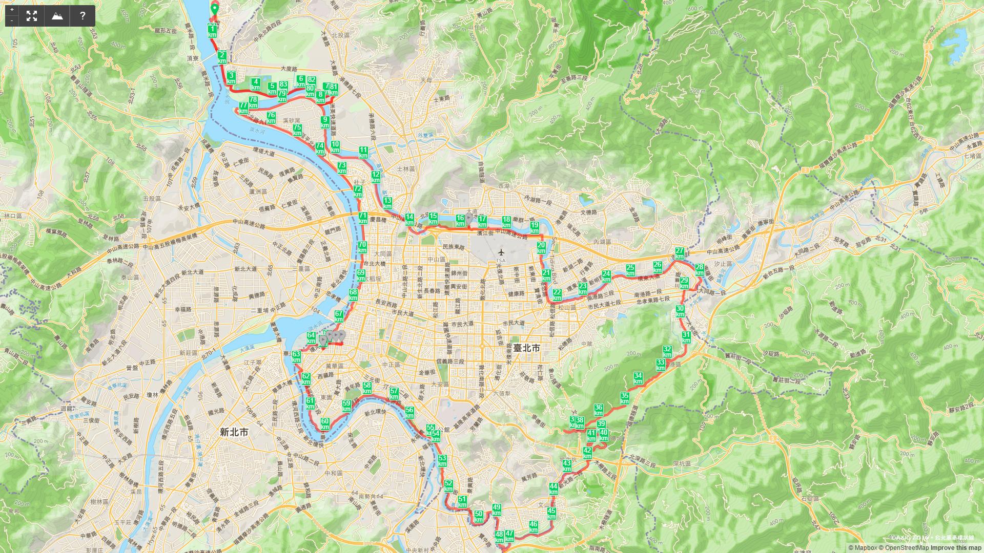 2014.11 台北單車環狀線