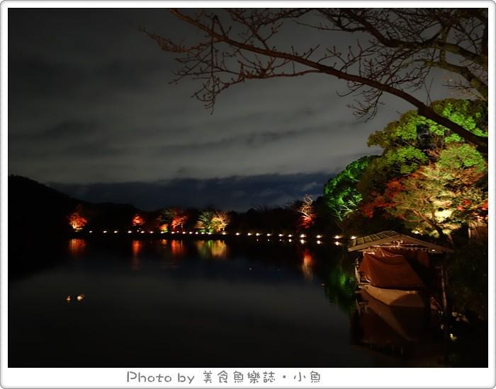 【2014京都】嵐山大覺寺夜楓‧真紅の水鏡 @魚樂分享誌