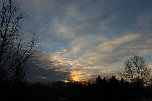morning clouds sunrise michigan saline saline11292014