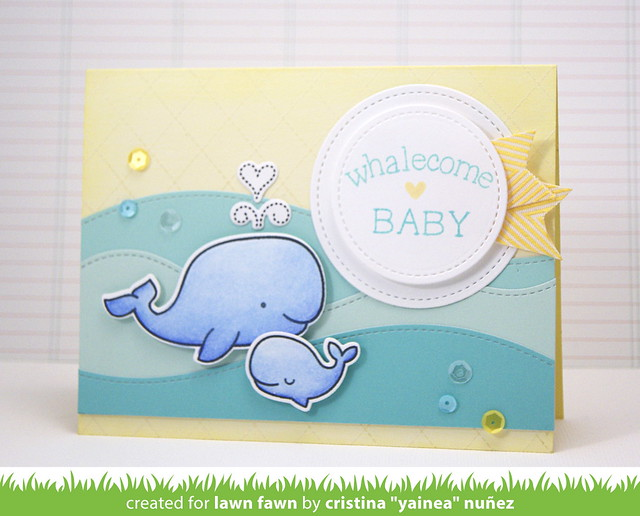 Whalecome baby
