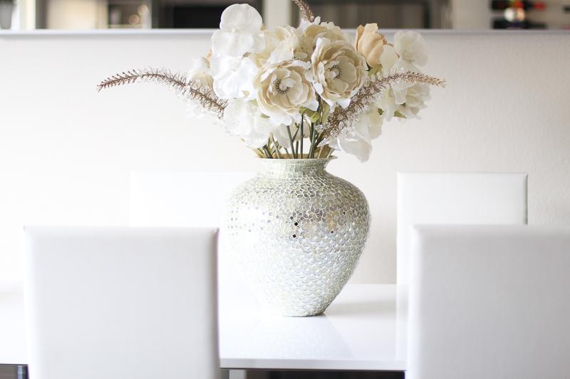 Pier 1 Vase and Flowers Bouquet arrangement