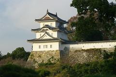 Akashi Castle, 24Nov. 2014: M8 + Elmarit 135/2.8 & Canon EF + FDn 35-105/3.5