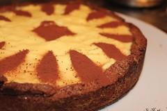 Pasta frolla ala cacao con arance candite e crema…