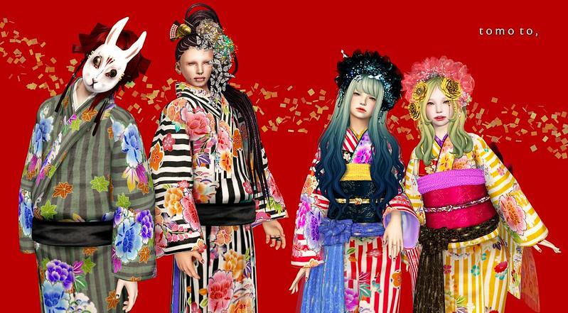 tomoto,  un Jour @ BAKUMATSU Kimono fair