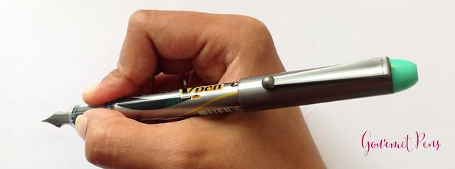 Review Pilot VPen Fountain Pen - Light Green @PilotPenUSA @JetPens (8)
