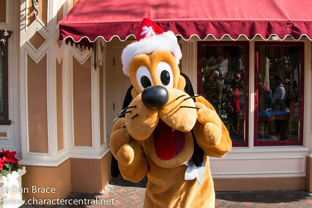 Character fun on Main Street
