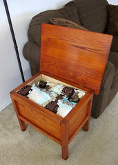 Blanket Chest & End Table
