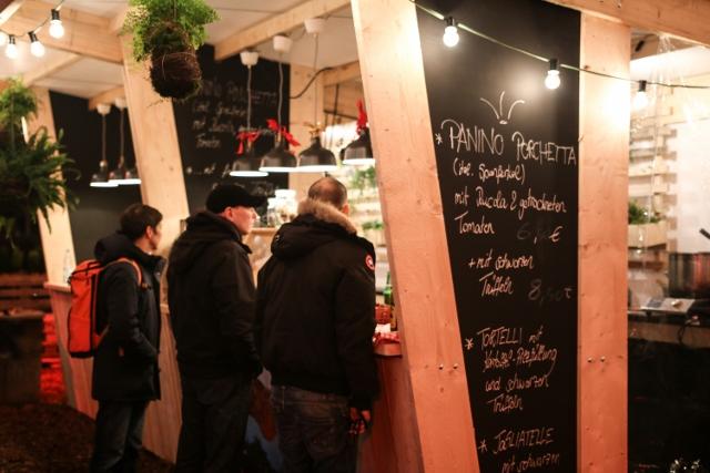 A Winter Food Market