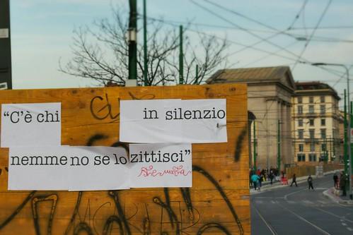 C'è chi il silenzio lo fa diventare #poesia by Ylbert Durishti
